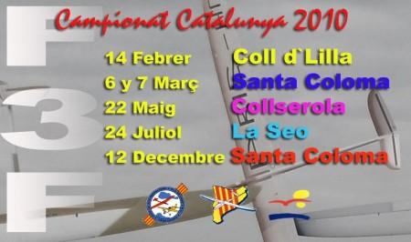 Fechas CC F3F 2010