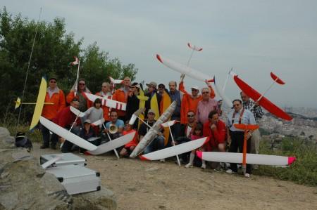 Participantes de la 2ª Copa Ocelot F3F